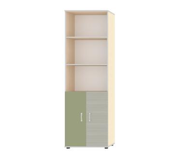 """Шкаф для книг с двумя дверьми """"Джуниор"""" Зеленый"""