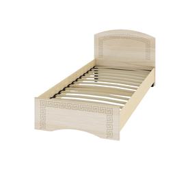 Кровать «ОСКАР» односпальная 900 (цвет - Капучино/ Млечный дуб)