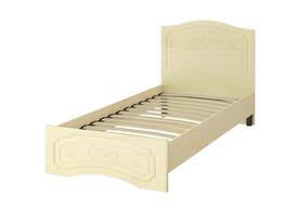 Кровать «ОСКАР» односпальная 900 (цвет - Клен/Липа Светлана)