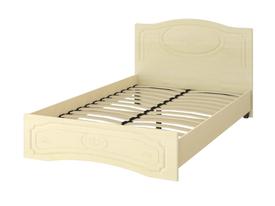 Кровать «ОСКАР» полутораспальная 1200 (цвет - Клен/Липа Светлана)