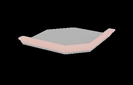 Плита карнизная угловая