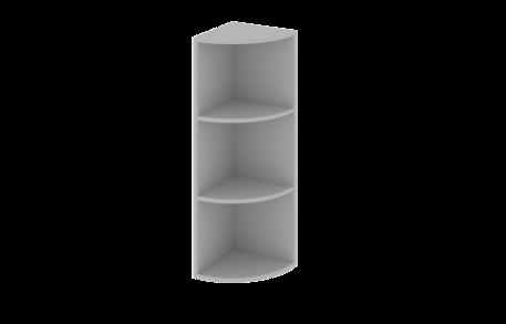 Завершающий элемент открытый высокий верхний радиусный