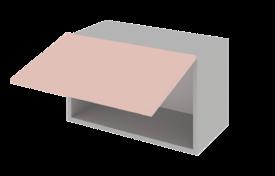 Шкаф низкий горизонтальный 800  h=360