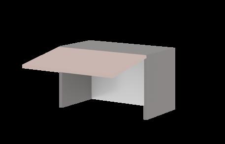 Шкаф 600 низкий 360 горизонт. (для сушилки с алюм.рамой)