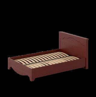 Кровать «ГАЛА» двуспальная 1400 (цвет - Альберо Россo)