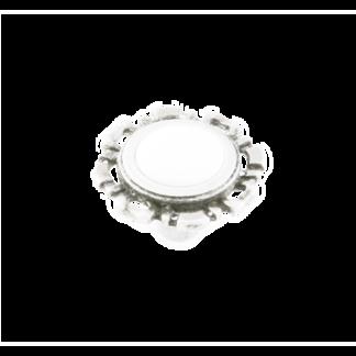 Ручка грибок FB-033 000 белый RAL 9003 матовый