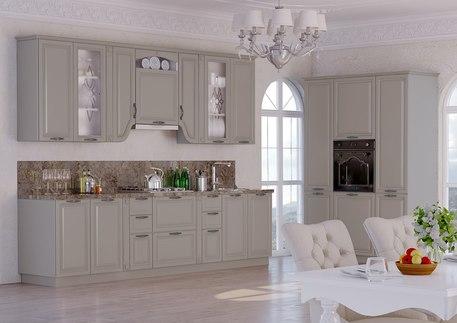 Кухня «ПАЛЕРМО» (цвет - имбирь структурный)