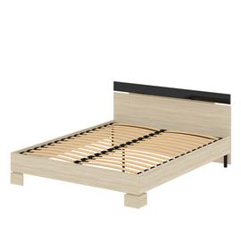 Кровать «САВУ» двуспальная 1600 (цвет – Ясень шимо светлый)