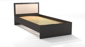 Кровать «ОСКАР» односпальная 900 (цвет - Ясень Шимо светлый/ Ясень Шимо темный)