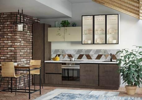 Кухня «СИТИ» (цвет - санса)