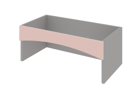 Ниша с дугой (под плиту карнизную) h240 800мм