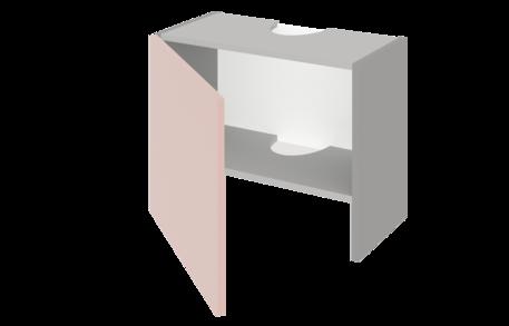 Шкаф низкий над вытяжкой 500 ЕВРОДОМ