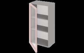 Шкаф высокий 400 со стеклом