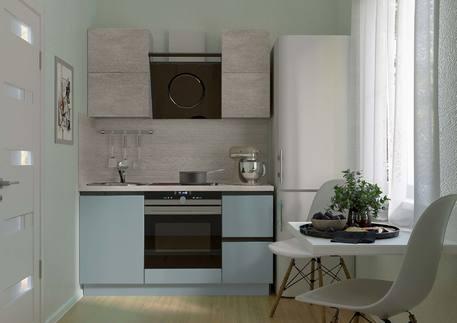 Кухня «СИТИ» (цвет - силк топаз, венеция крем)