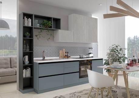 Кухня «СИТИ» (цвет - силк топаз, оленна матовая)