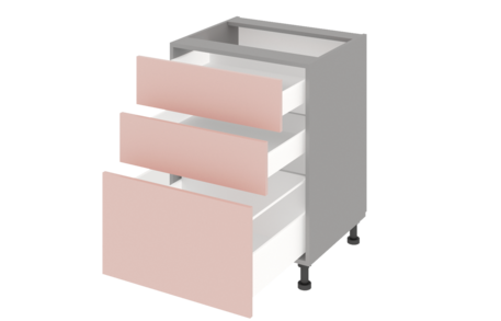 Стол рабочий 600 с 3 ящиками